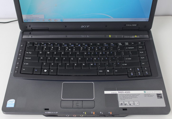 Notebook Acer Extensa 5620Z 15.4'' Intel Pentium 1.73GHz 2GB HD-250GB