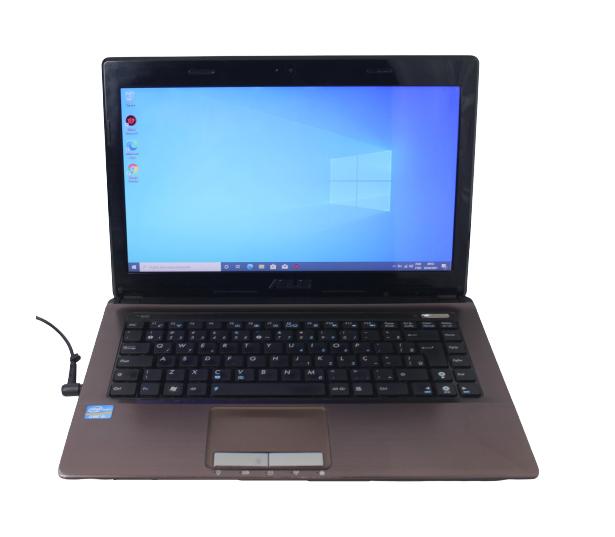 "Notebook Asus K43E 14"" Intel Core I5 2.3Ghz 8GB HD-750GB"