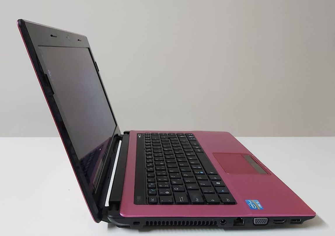 "Notebook Asus K43E-VX826R 14"" Intel Core i5 2.3GHz 8GB HD-750GB"