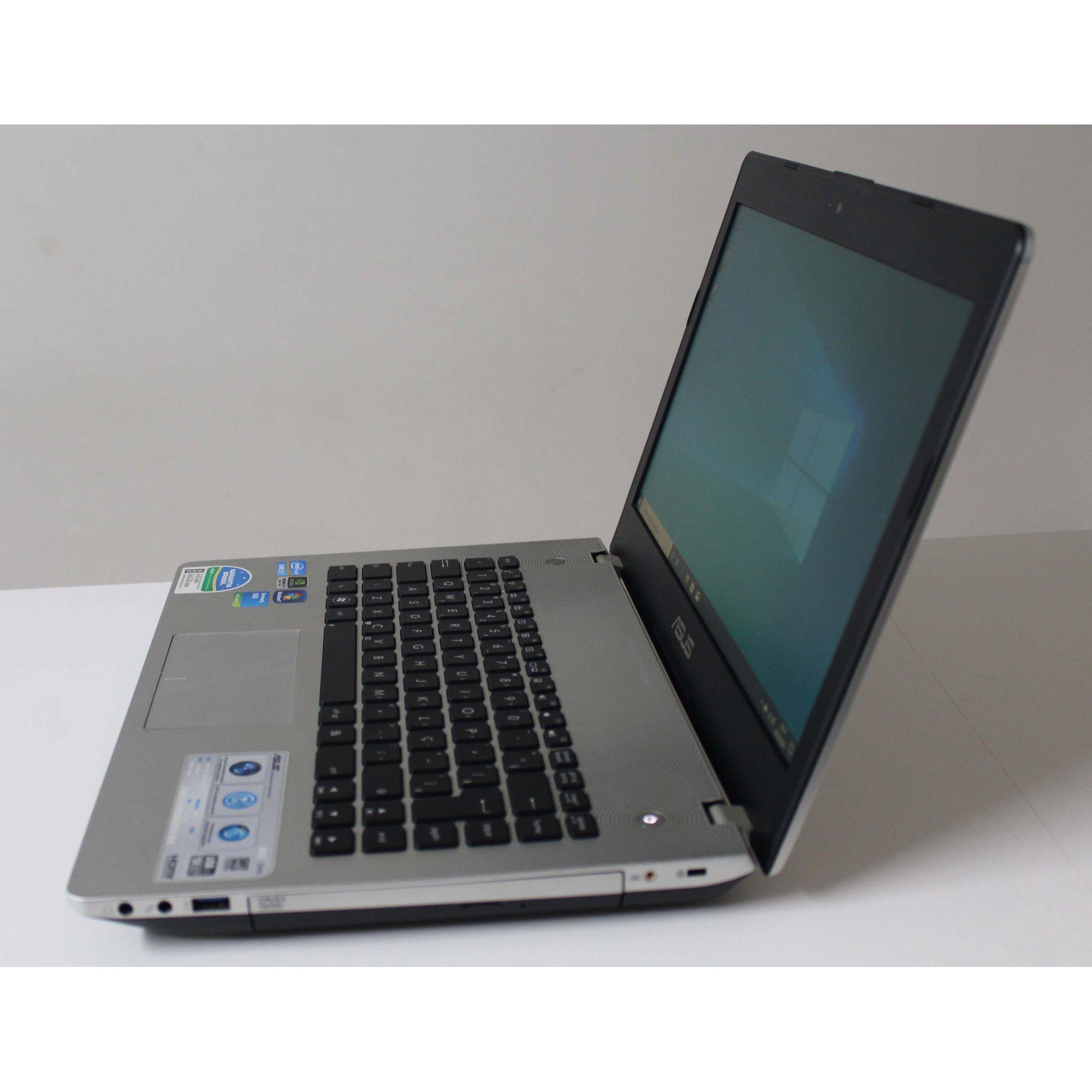 """Notebook ASUS N46VM 14"""" intel core i7 2.3GHz 8GB SSD-240GB + 2GB Dedicado"""