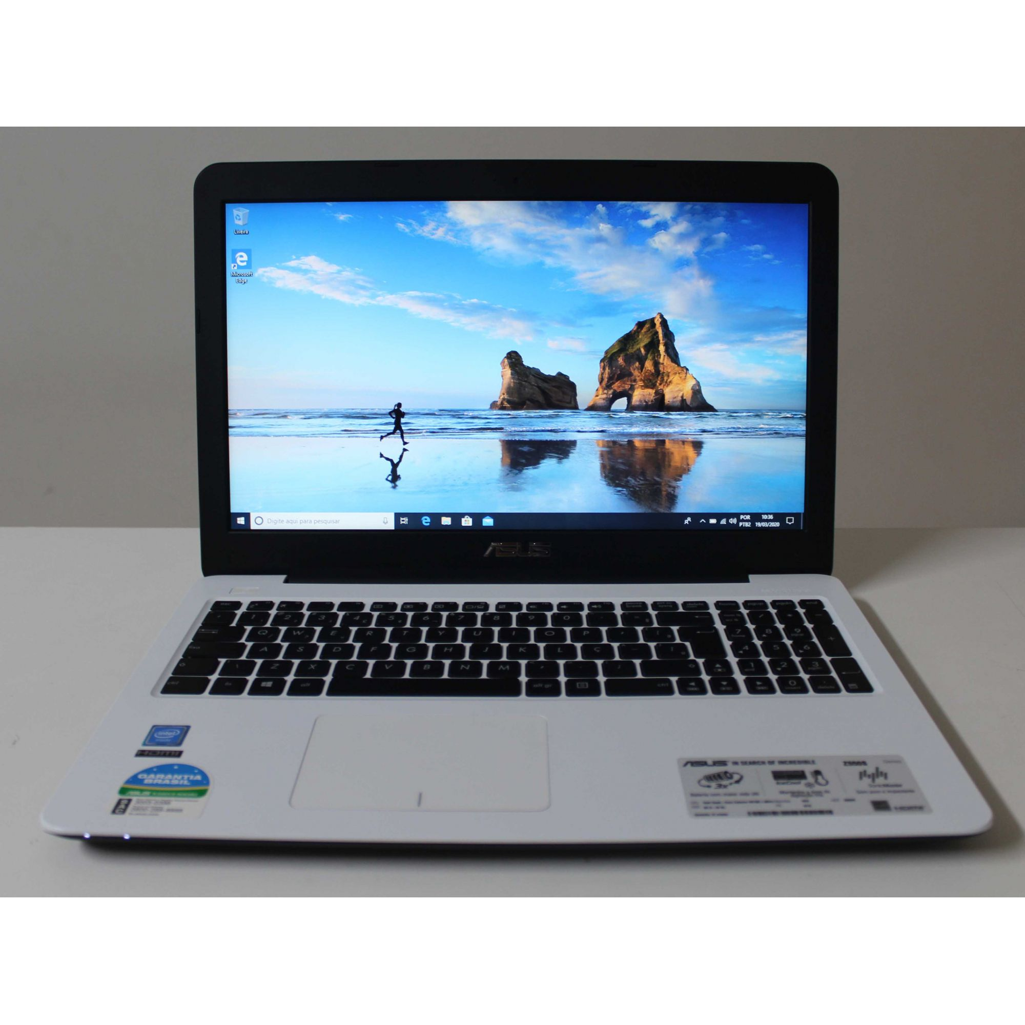 "Notebook Asus Z550SA 15.6"" Intel Celeron  1.60GHz 4GB HD-500GB + Alpha"