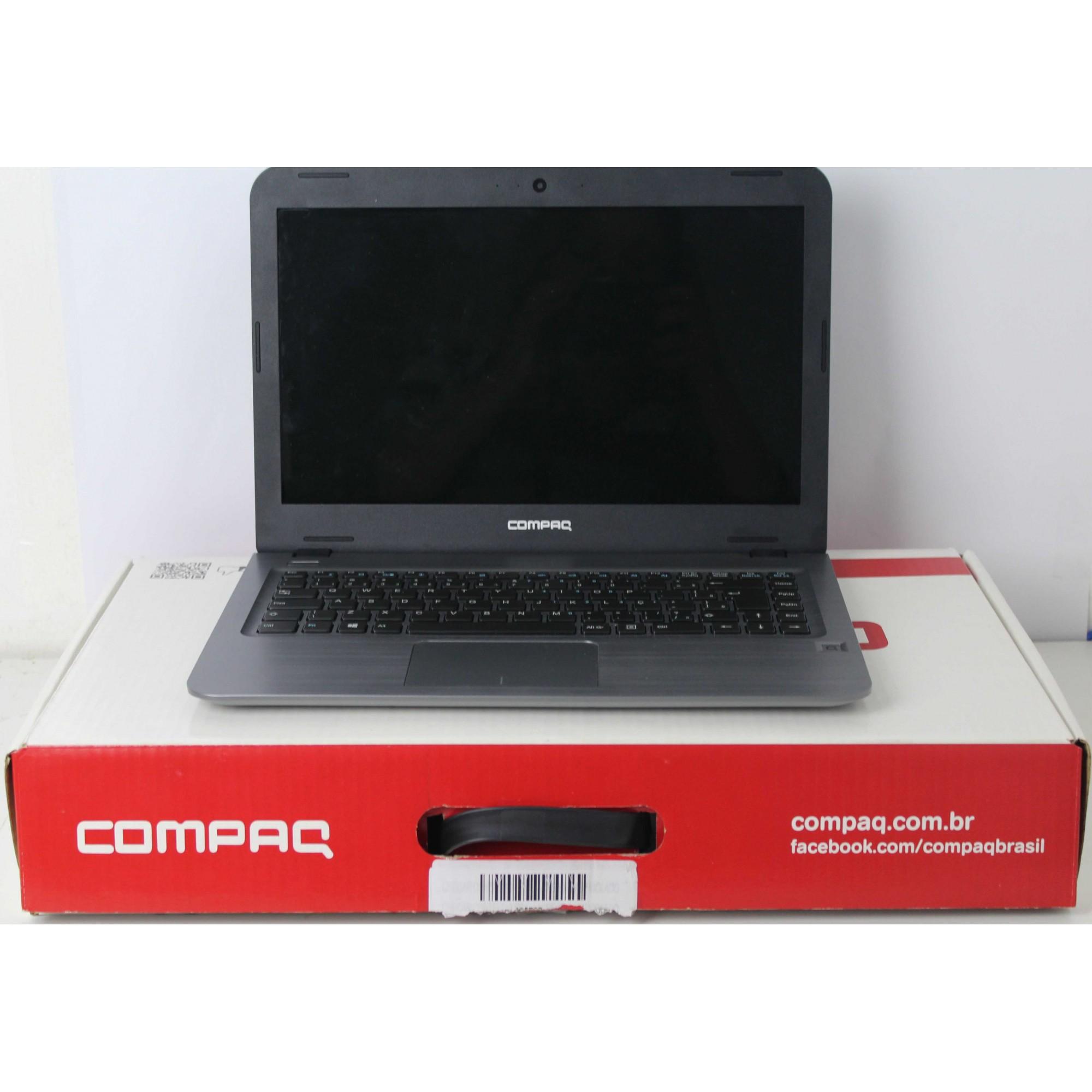 Notebook Compaq Presario CQ15 14'' Intel Celeron 1.1GHz 4GB HD-500GB