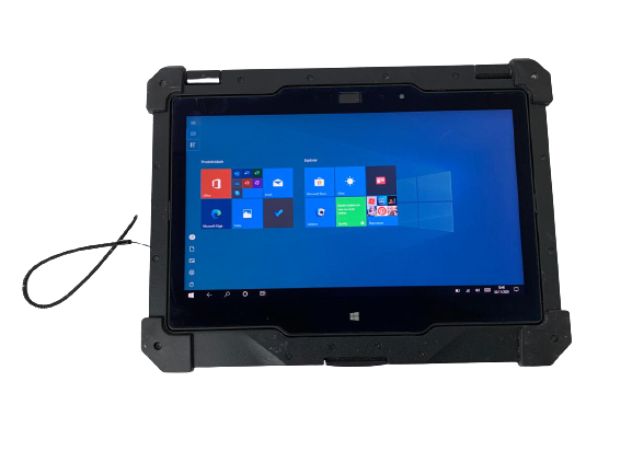 "Notebook Dell 2 em 1 Latitude Rugged 7214 11,6"" Core i7 2.6Ghz 8GB SSD-256GB - Touch Screen"