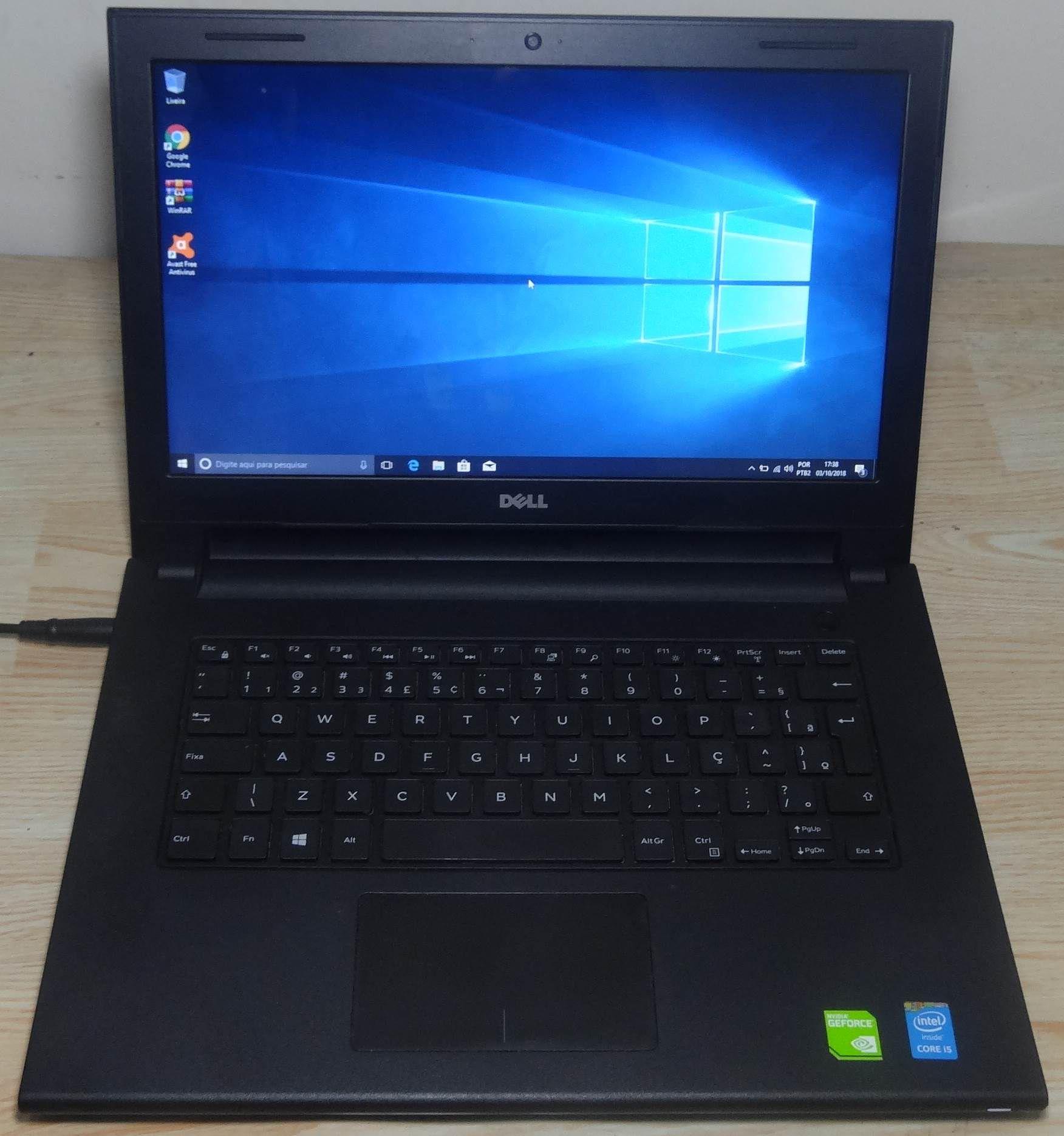 """Notebook Dell Inspiron 14 3442 14"""" Intel Core i5 1.7GHz 8GB 1TB (2GB DEDICADA) (Não Enviamos)"""