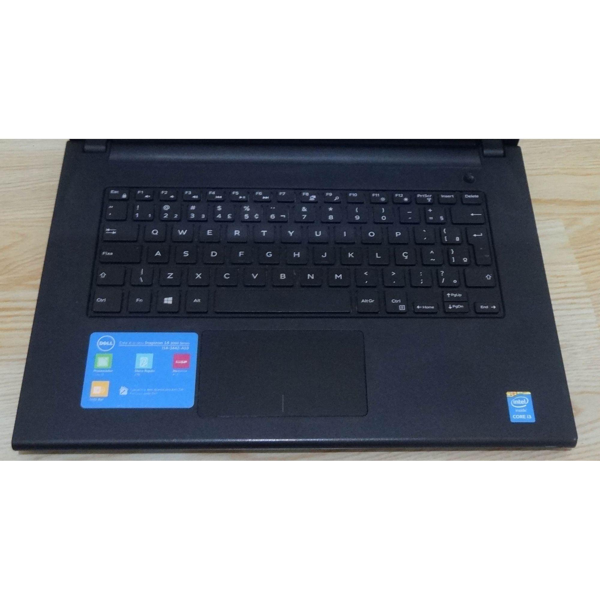 "Notebook Dell Inspiron 14-3442-A10 14"" Intel Core i3 1.7GHz 4GB 1TB HD (Não Enviamos)"