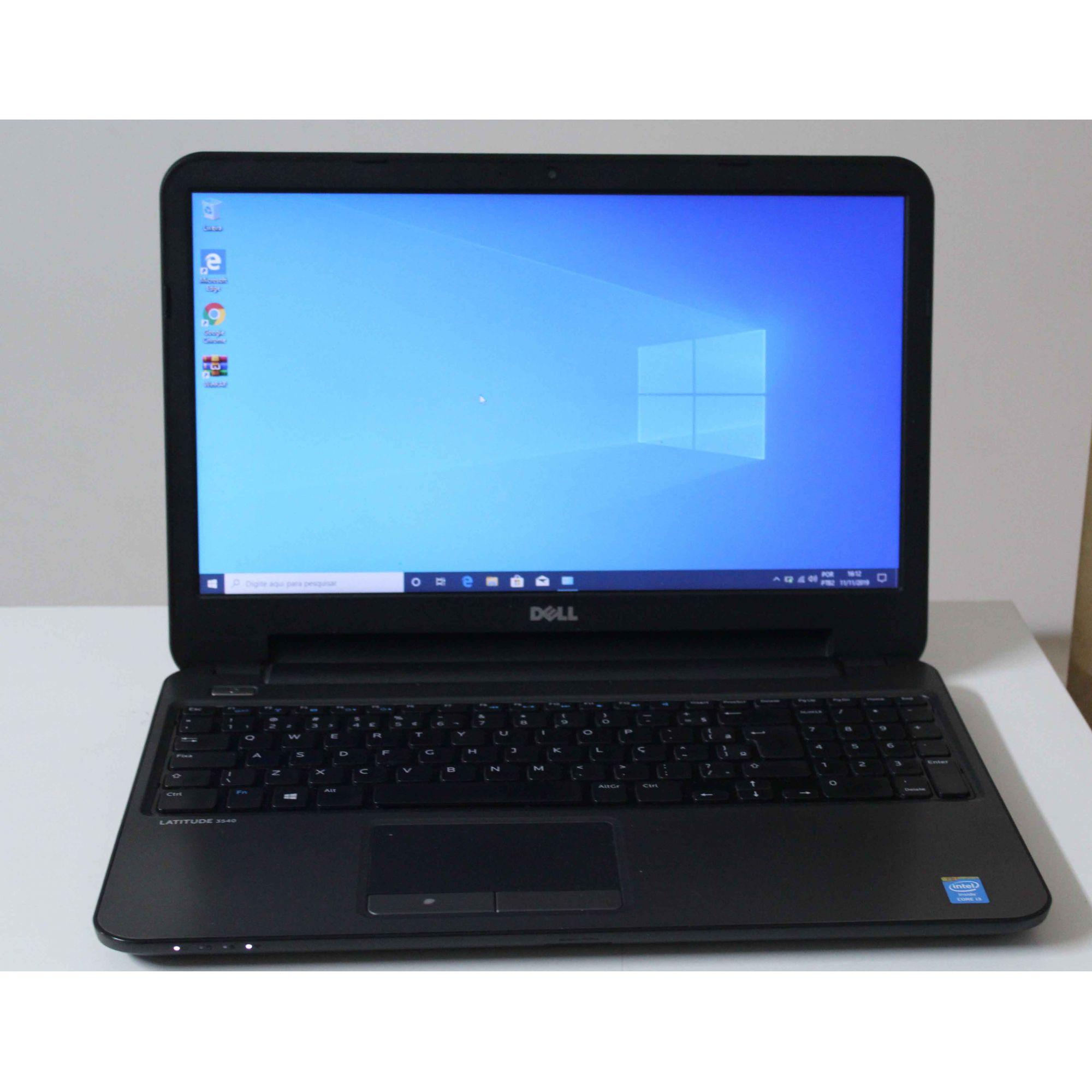 Notebook Dell Latitude 3540 15.6'' Intel Core i3 1.7GHz 8GB HD-500GB + Alphanumérico