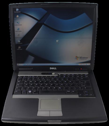 "NOTEBOOK DELL LATITUDE D520 15"" INTEL CORE 2 DUO 1.83GHZ 2GB HD-80GB - SERIAL DB9 - NÃO ENVIAMOS"