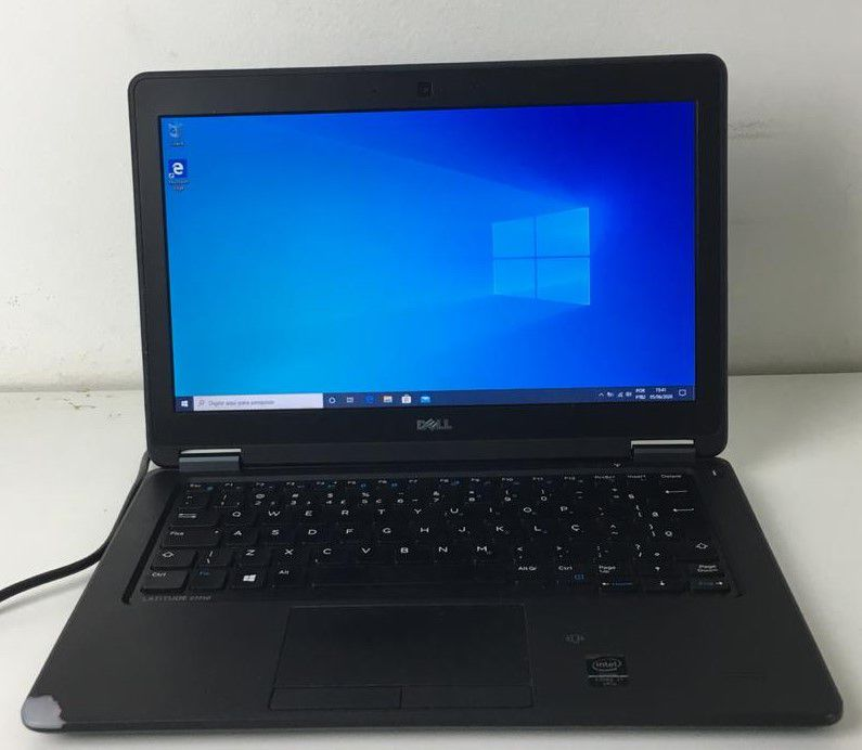 "Notebook Dell Latitude E7250 12.5"" Intel Core i7 2.6GHz 8GB SSD-128GB (SSD)"