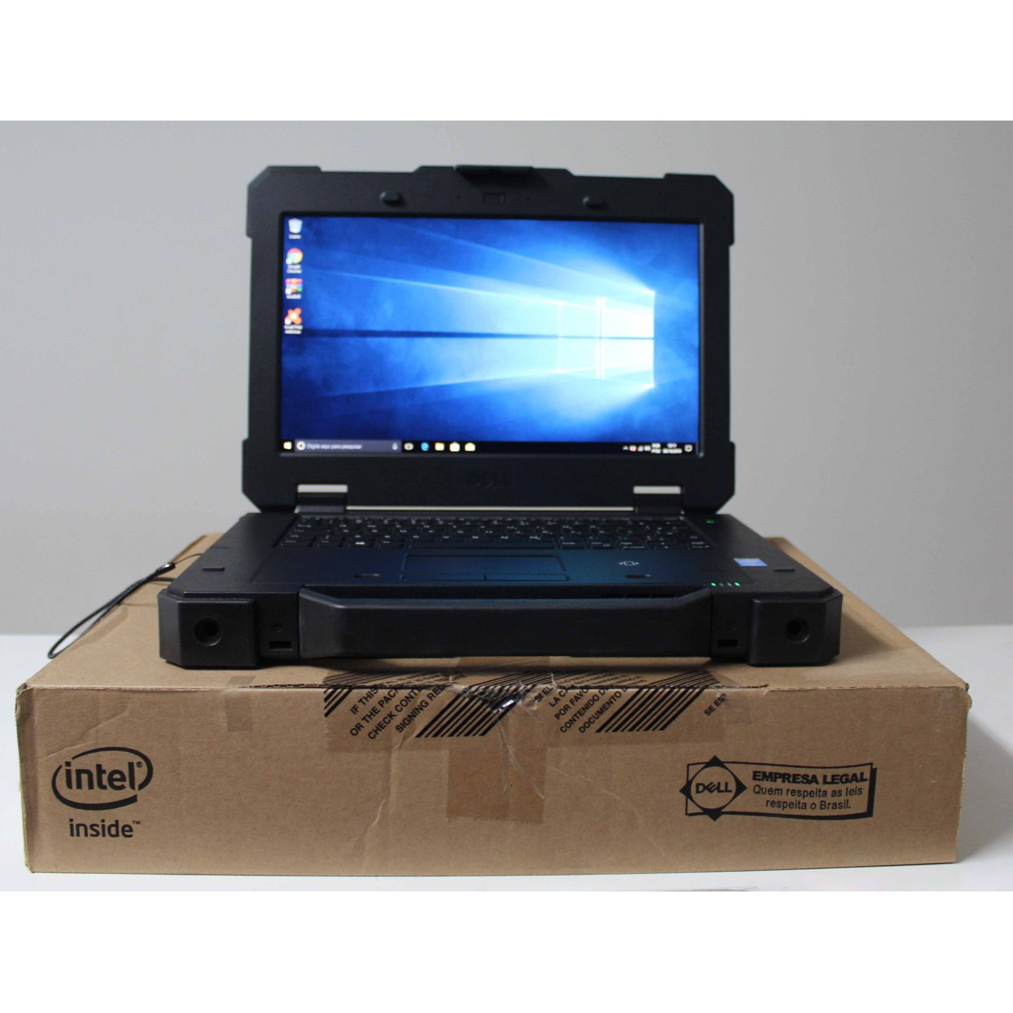 Notebook Dell Rugged 7404 14'' Intel Core i5 1.9GHz 8GB SSD-256GB - SERIAL DB9, Robusto!