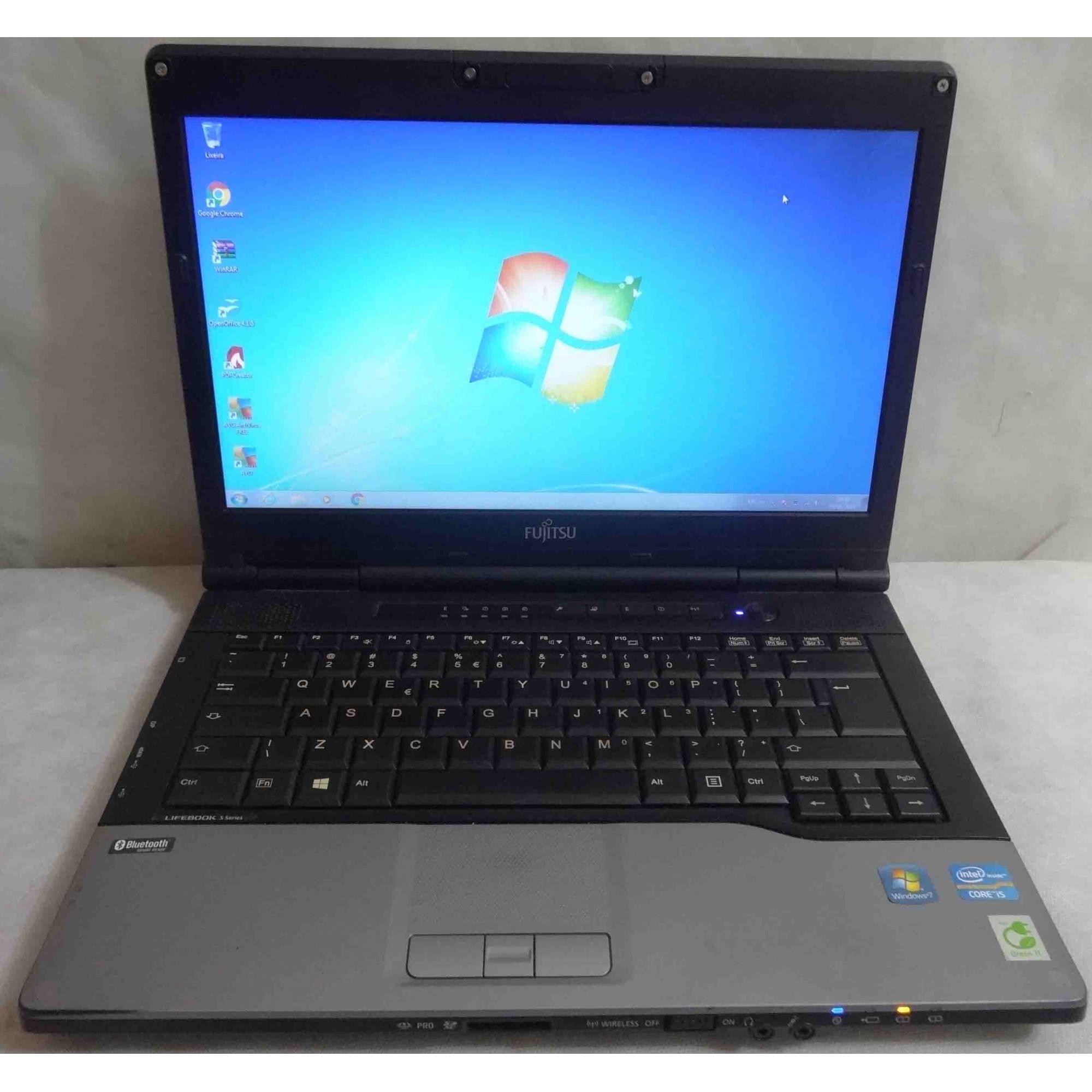 Notebook Fujitsu Lifebook S752 14'' i5. Não Enviamos.