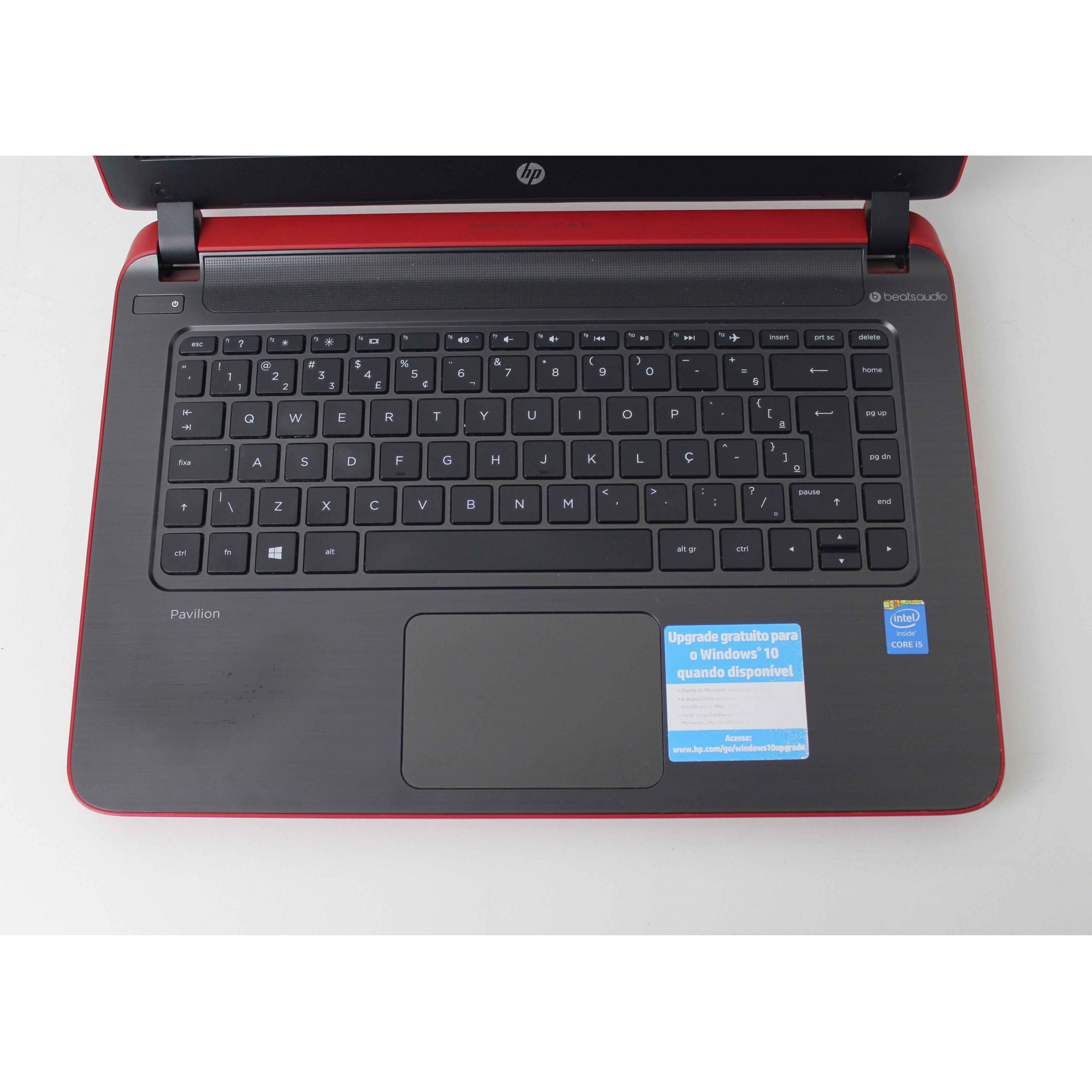 "Notebook HP Pavilion 14-060BR 14"" Intel Core I5 1.7Ghz 4GB HD-500GB"