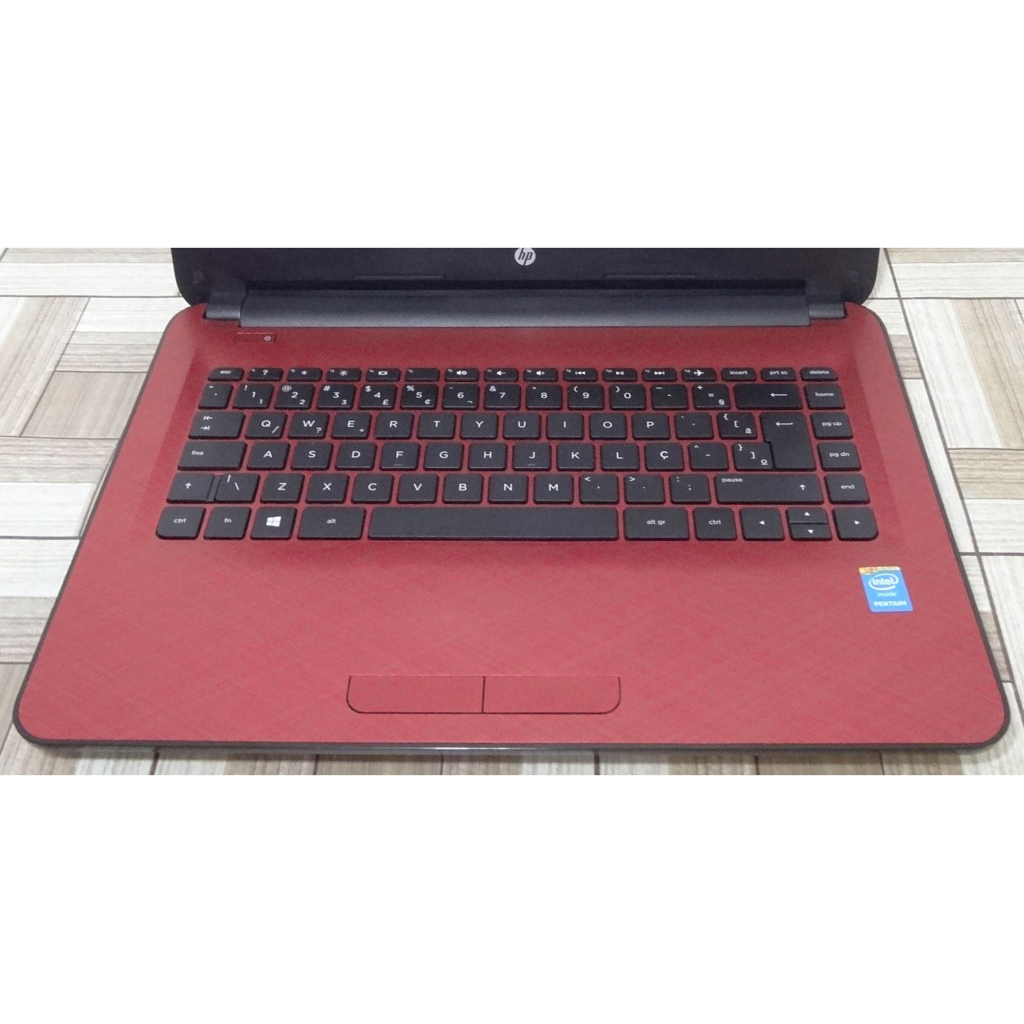 Notebook HP 14-AC105BR 14'' Intel Pentium 1.9GHz 4GB HD-500GB