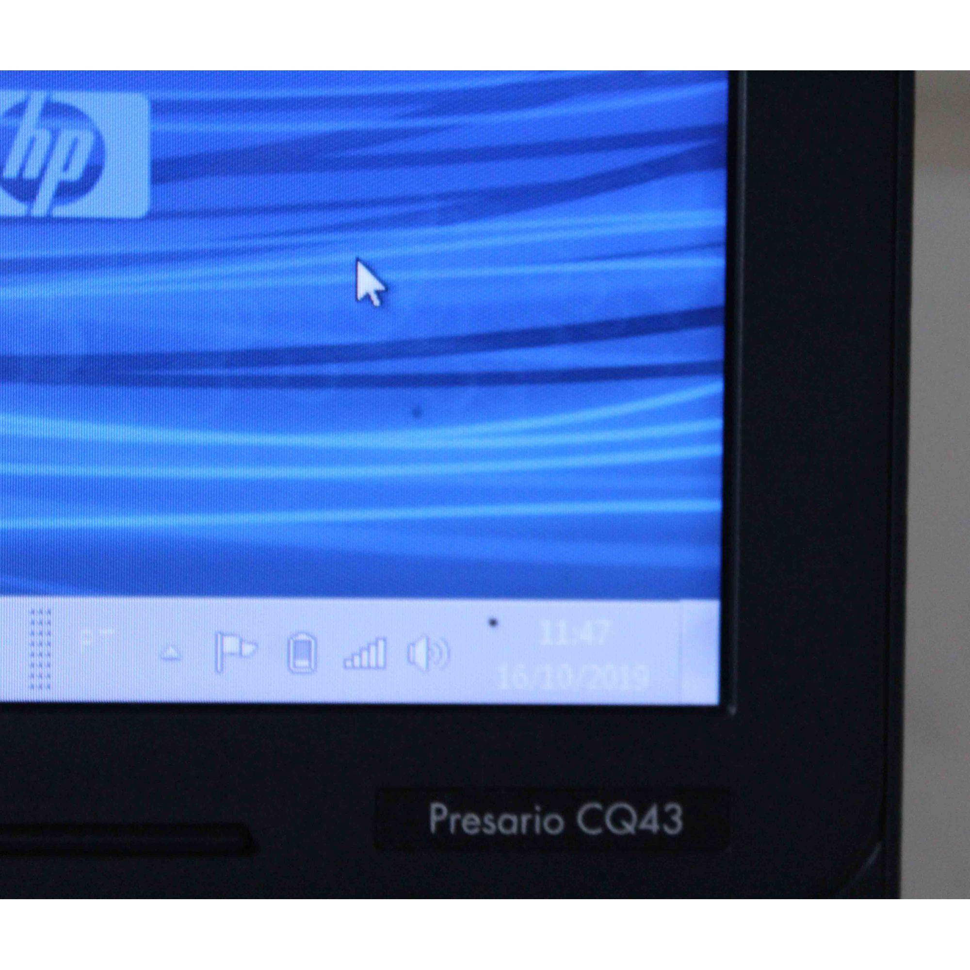 "Notebook HP Compaq Presario CQ43 14"" Intel Core i3 2.20GHz 4GB HD-640GB"