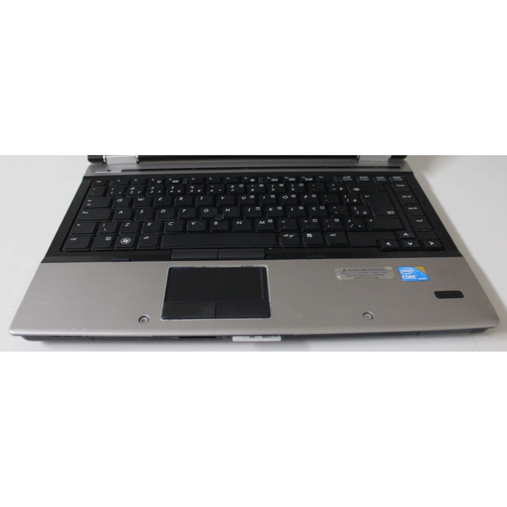 """Notebook HP EliteBook 8440p 14"""" i5 M520 2.4GHz 4GB HD-320"""