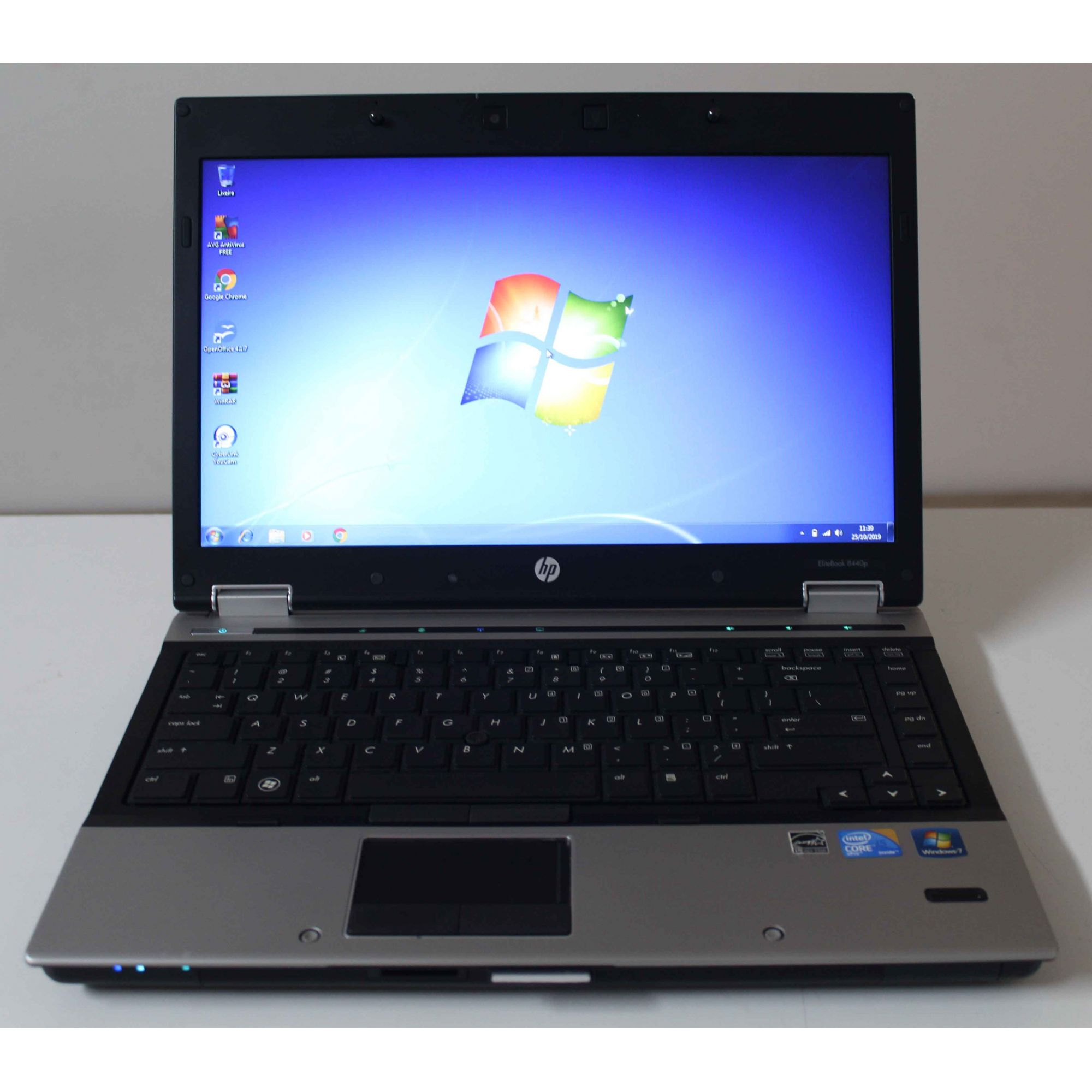 "Notebook HP EliteBook 8440p 14"" Intel Core i5 2.40GHz 4GB HD-250GB"