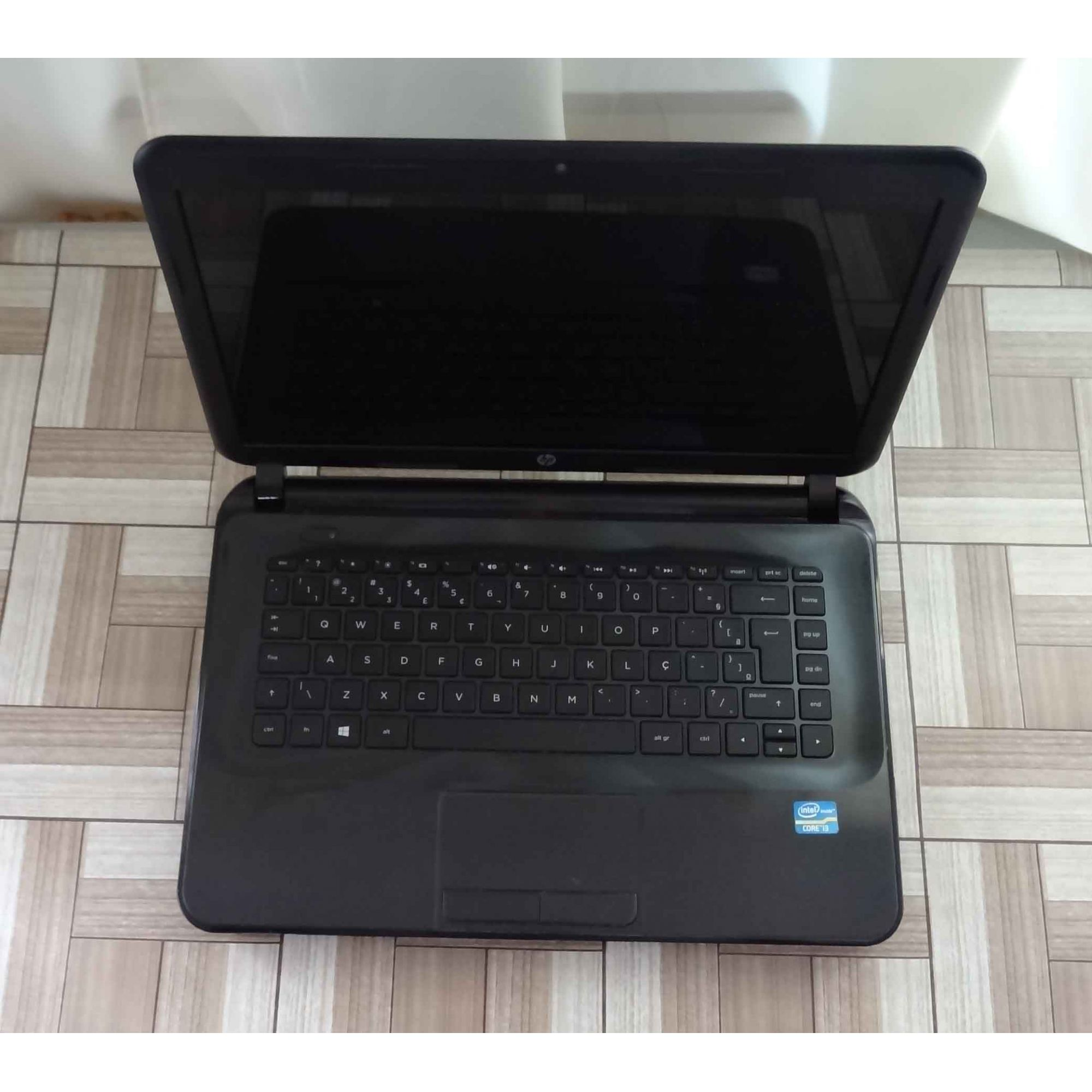 Notebook HP Pavilion 14-D028BR 14'' Core i3 2.4GHz 4GB HD-500GB