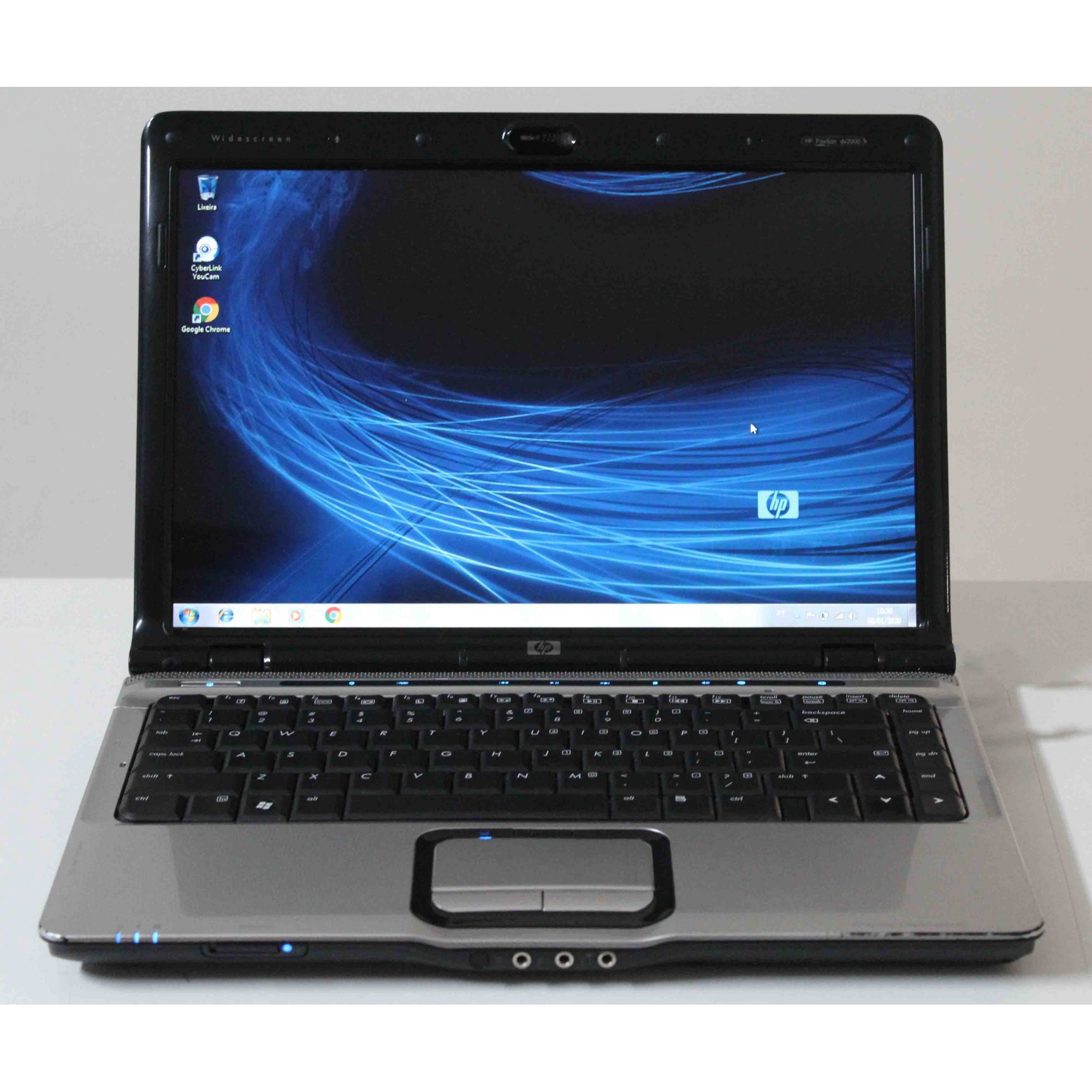 "Notebook HP Pavilion DV2700 14"" Intel Core 2 Duo 1.83GHz 4GB HD-320GB"