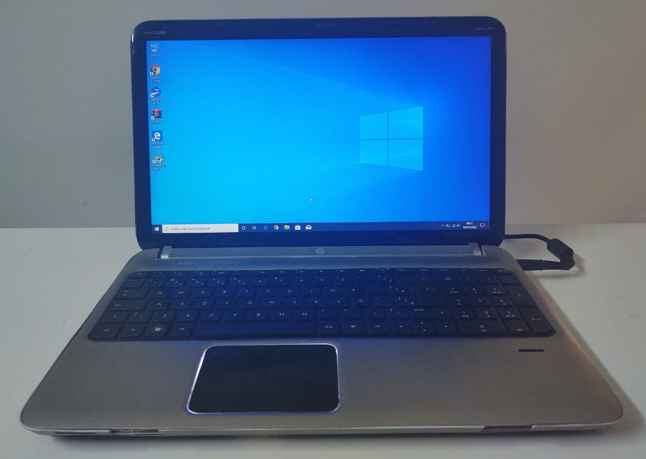 """Notebook HP Pavilion DV6 15.6"""" AMD-A4 1.90GHz 4GB HD-500GB + Alpha + Dedicada"""