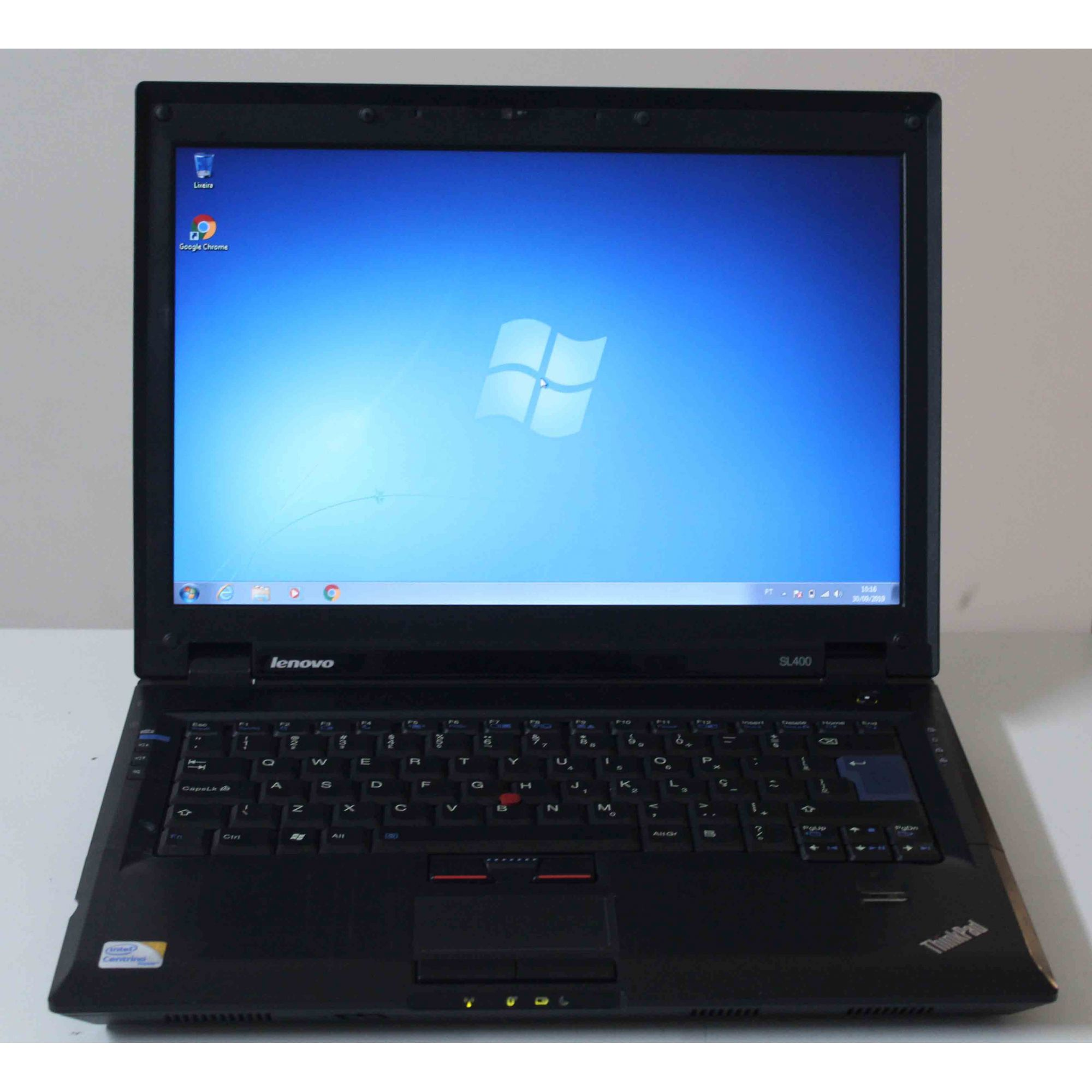 "Notebook Lenovo Thinkpad SL400 14.1"" Intel Core 2 Duo 2.27GHz 2GB HD-160GB"