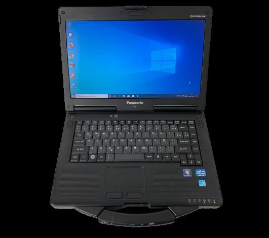 "Notebook Panasonic Toughbook CF-53 14"" Intel Core i5 2.5GHz 4GB HD-500GB"