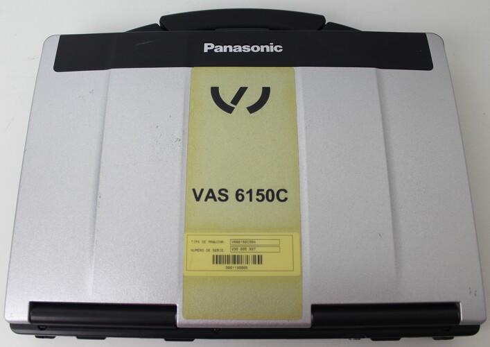 "NOTEBOOK PANASONIC TOUGHBOOK CF-53 14"" INTEL CORE I5 2.6GHZ 4GB HD-1TB"