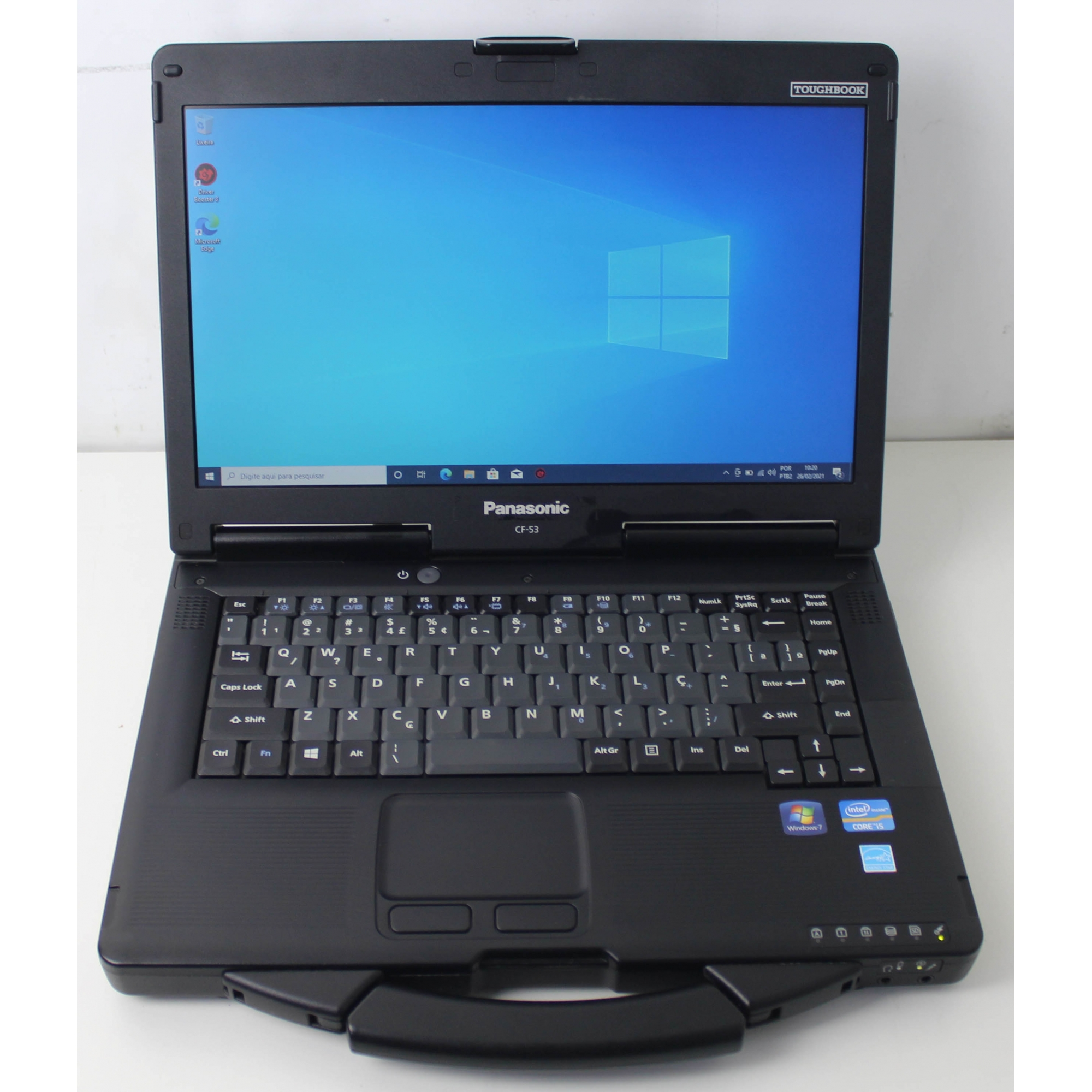 "Notebook Panasonic Toughbook CF-53 14"" Intel Core i5 2.6GHz 8GB SSD-256GB"