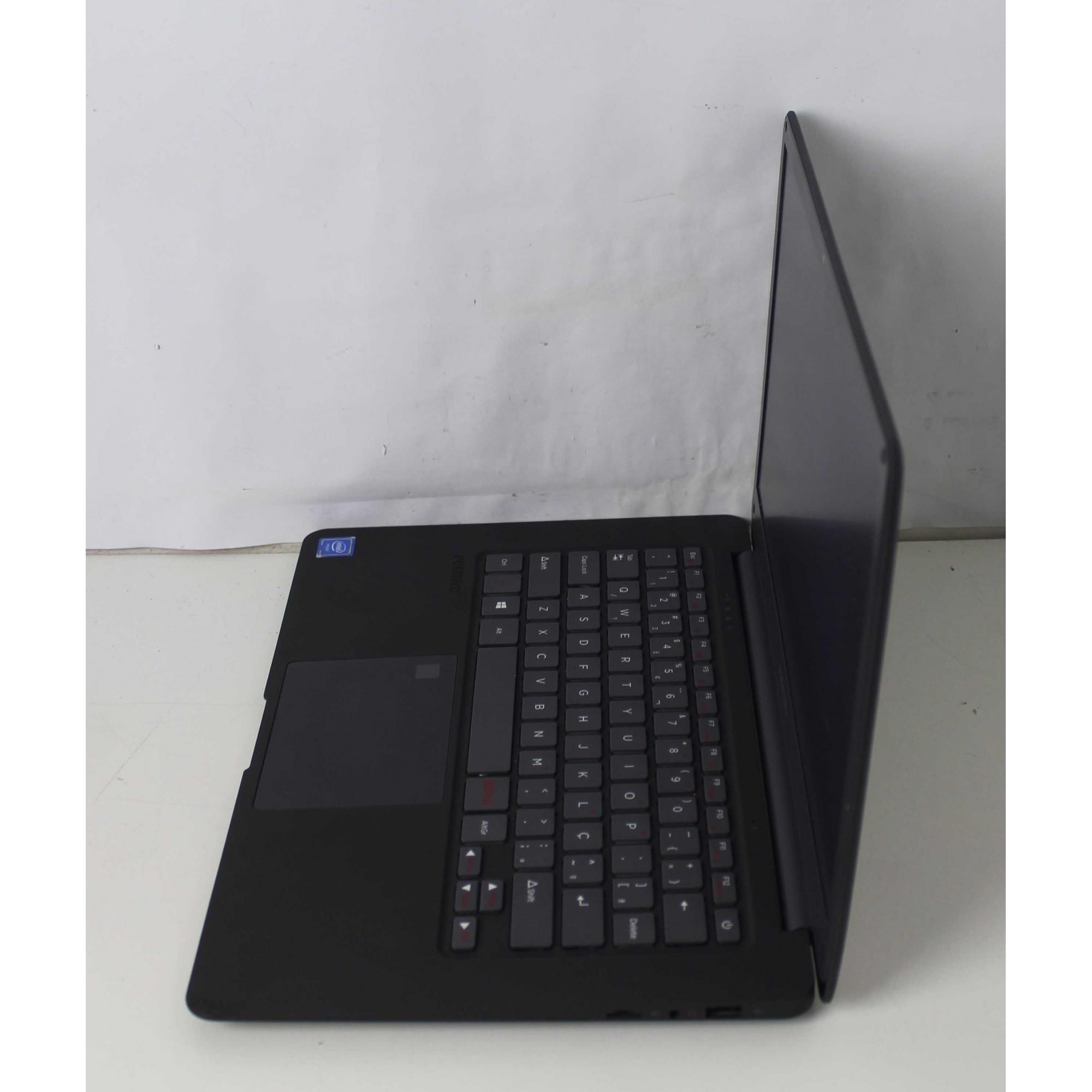 "Notebook Positivo Motion Plus Q432A 14"" Intel Atom 1.44GHz 4GB SSD-32GB"
