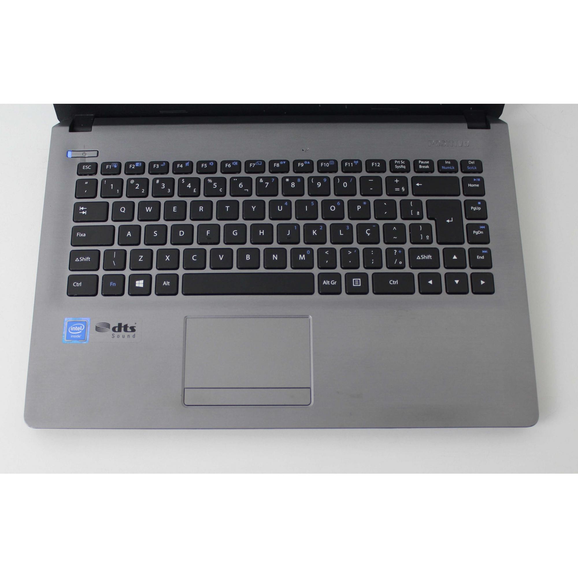 "Notebook Positivo Stilo XR 3500 14"" Intel Celeron 1.58GHz 4GB HD- 500GB"
