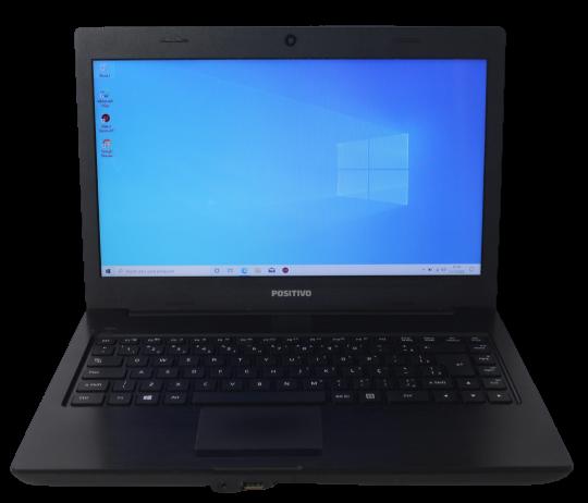 """Notebook Positivo Unique S1991 14"""" Intel Celeron 1.1GHz 4GB HD-320GB"""