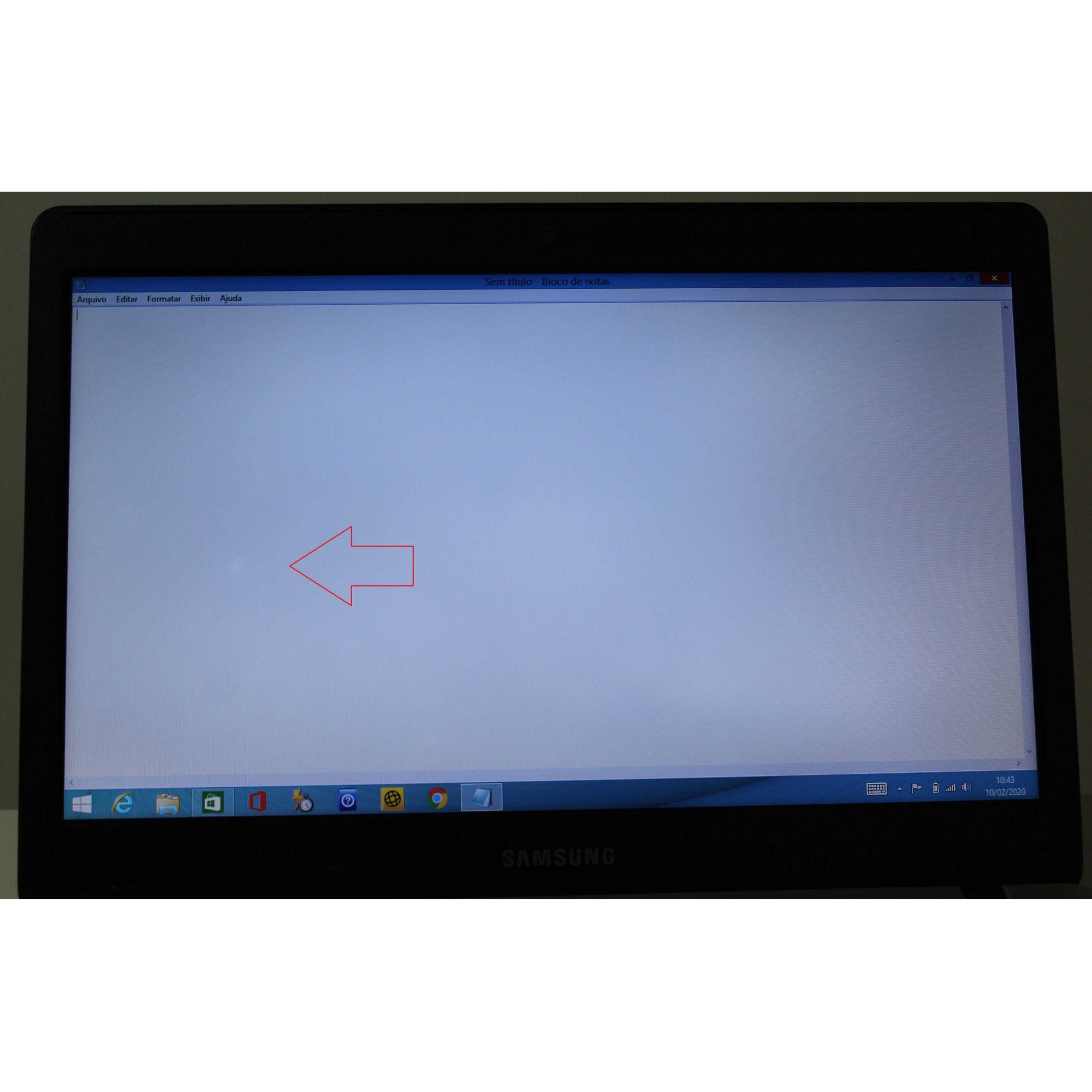 "Notebook Samsung NP370E4K-KDABR 14"" Intel Celeron 1.5GHz 4GB HD-500GB"