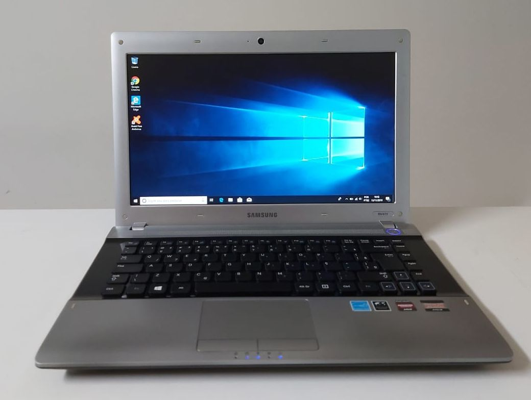 "Notebook Samsung RV415 14"" AMD E-300 1.30GHz 4GB HD-320GB"