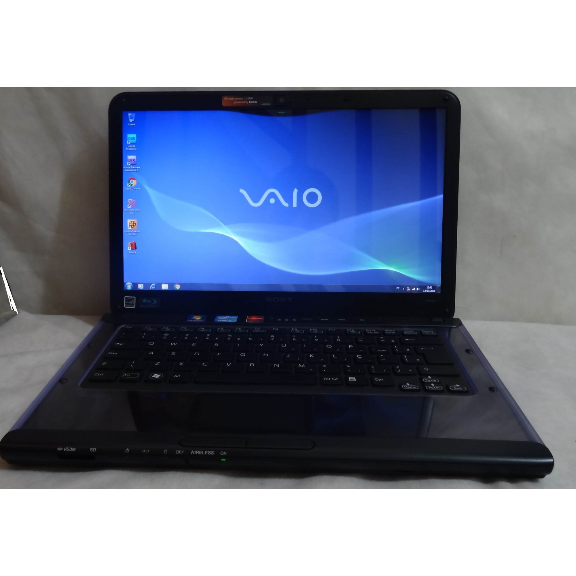 Notebook Sony Vaio VPCAA15FB 14.1