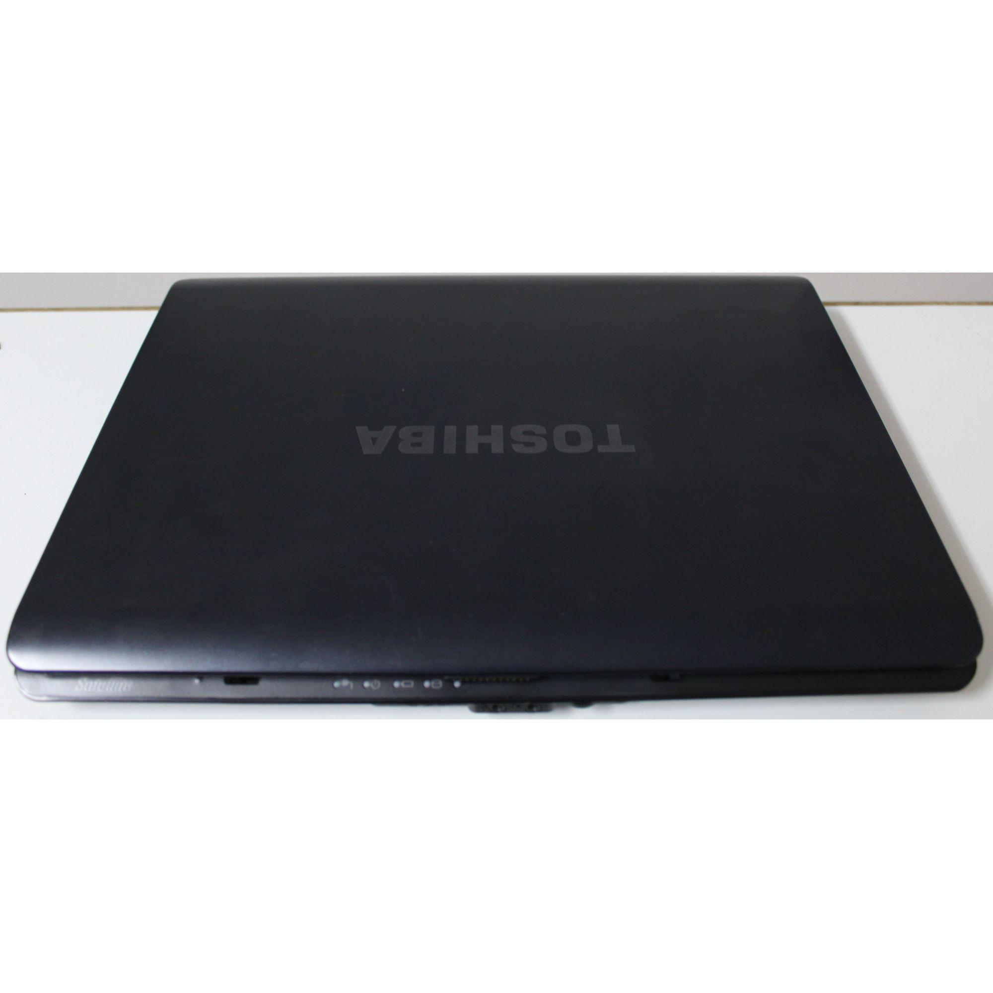 """Notebook Toshiba Satellite A205 15.4"""" Intel Celeron 2.13GHz 2GB HD-120GB (Não enviamos)"""