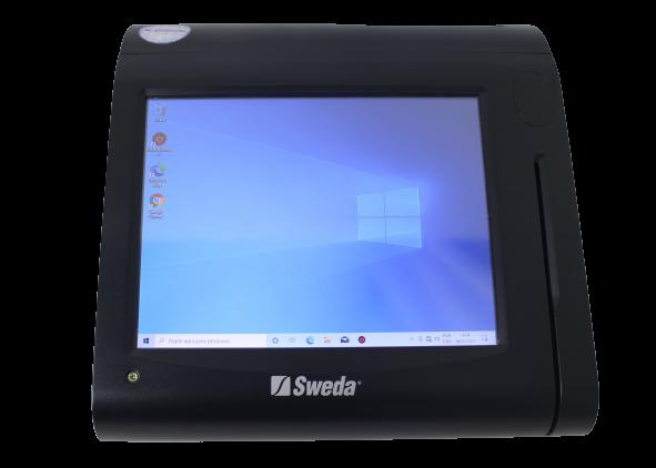 Solução PDV Touch Sweda SPT1000 10,4'' Intel Atom 1,8GHz 4GB HD-320GB