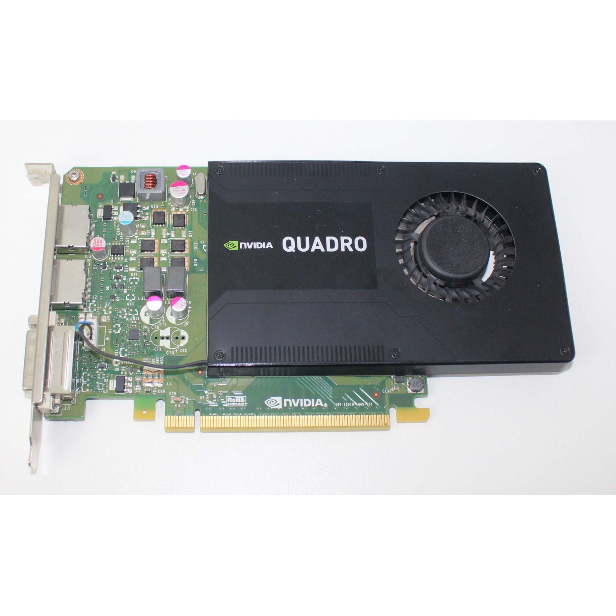 Placa de vídeo nVidia Quadro K2200 4GB GDDR5 DVI/ 2 DisplayPort