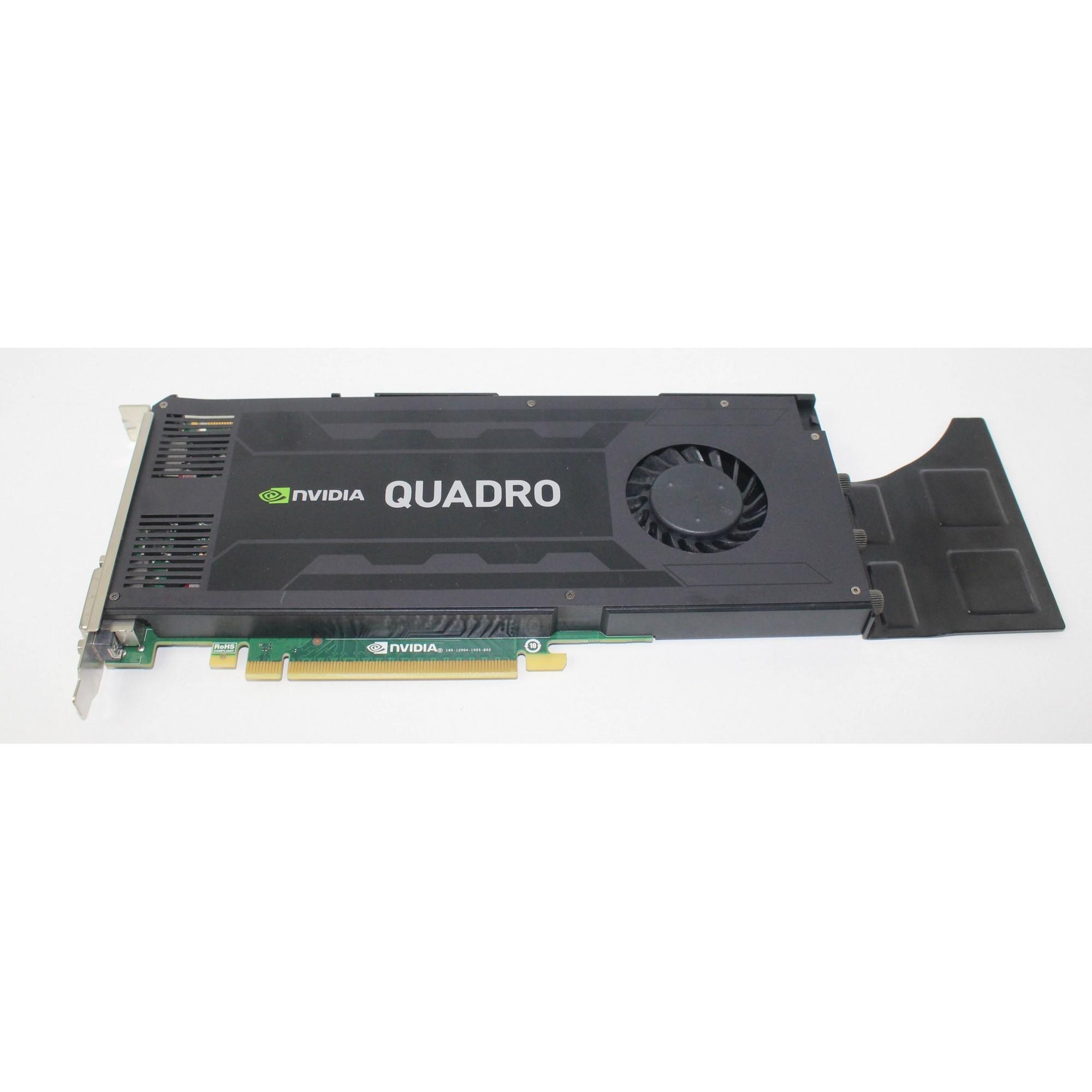 Placa De Vídeo Nvidia Quadro K4200 4gb Gddr5