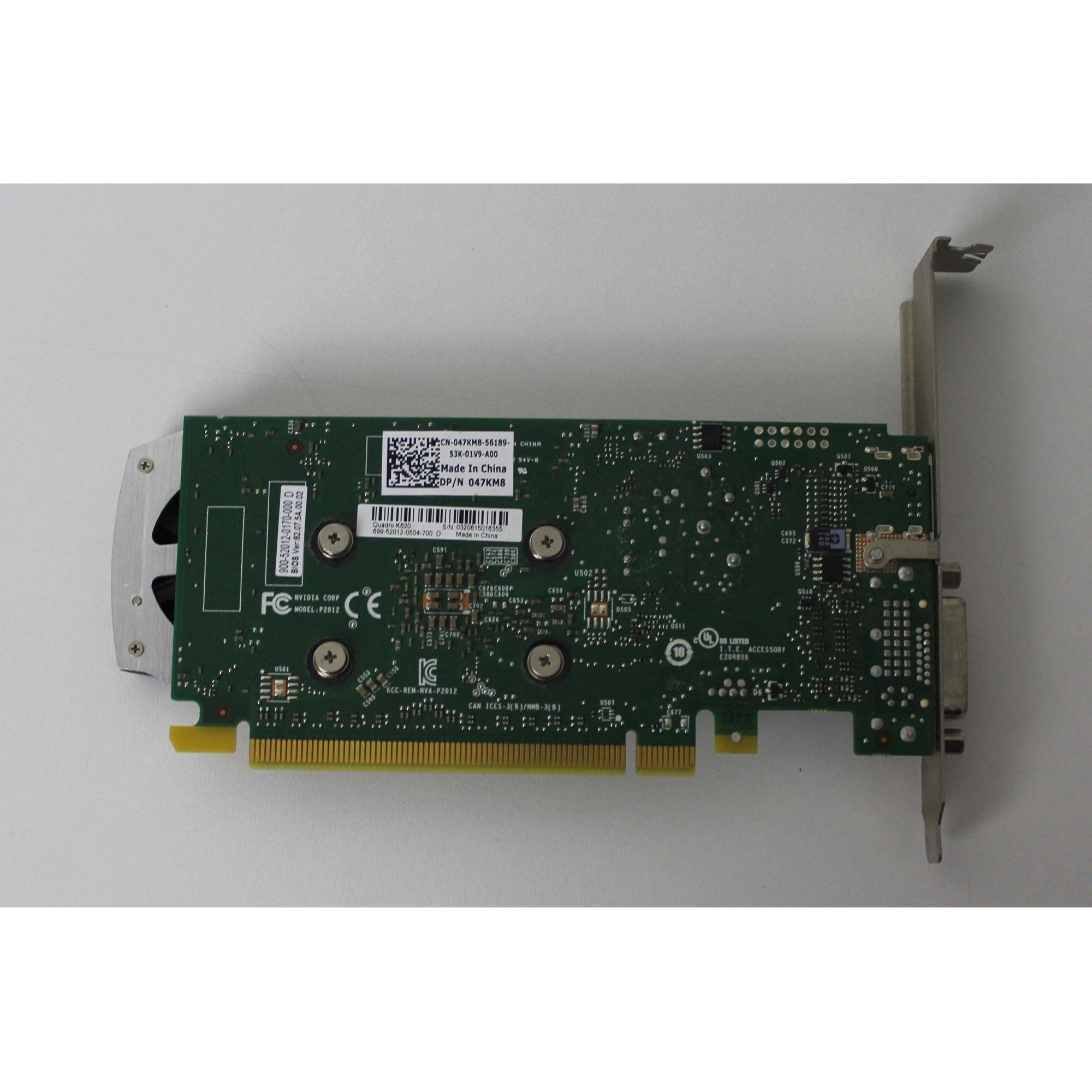 PLACA DE VIDEO QUADRO K620 2GB GDDR3 128 BIT