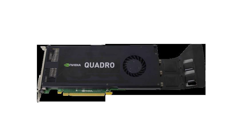 Placa de vídeo NVIDIA Quadro K4200 3GB GDDR5 DVI