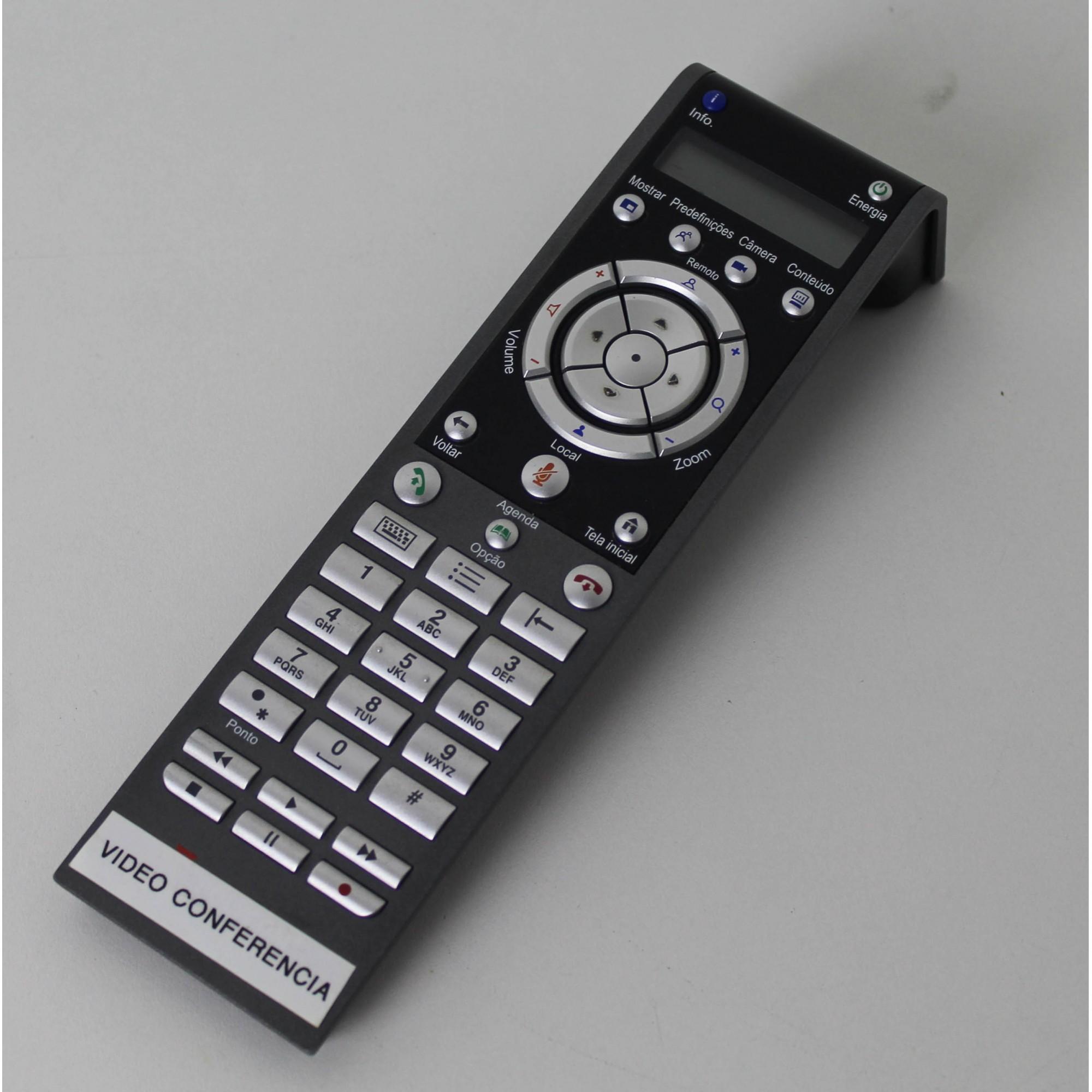 Polycom HDX 7000 Estação de Vídeo Conferência HD (Não Enviamos)