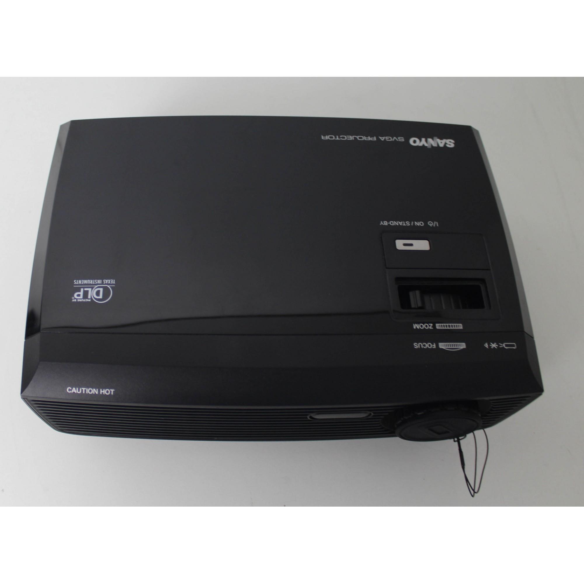 Projetor Sanyo PDG-DSU30-Preto