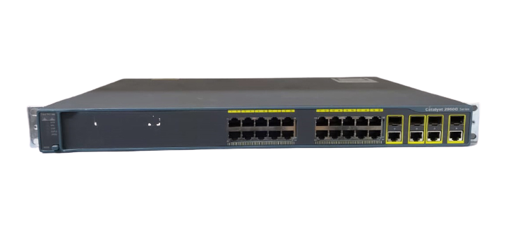 Switch Cisco Catalyst 2960G 24 Portas - 10/100 Base