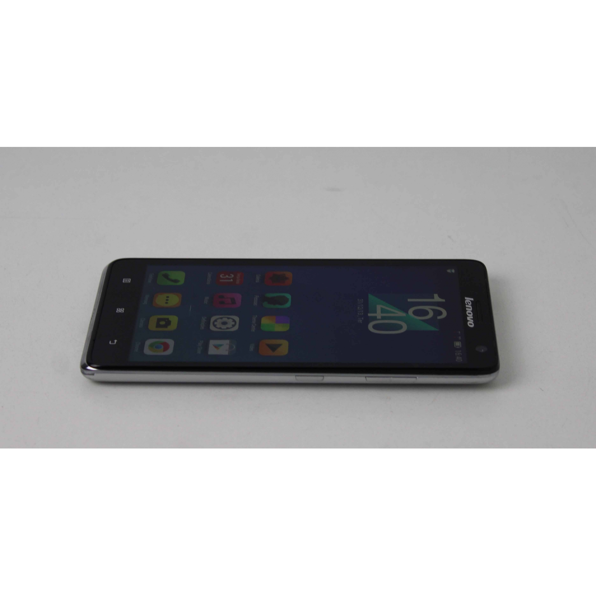 "Smartphone Lenovo S856 5.5"" 8GB - Prateado"