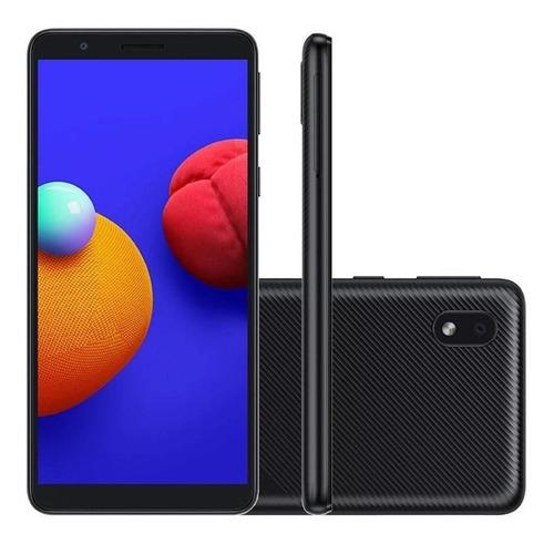 "Smartphone Samsung A01 5.7"" 32GB Dual SIM - Preto"