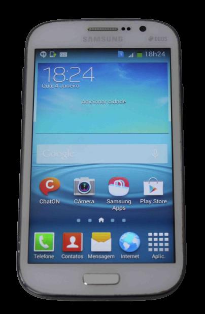 "Smartphone Samsung Galaxy Gran Duos 5"" 8GB 3G - Branco"