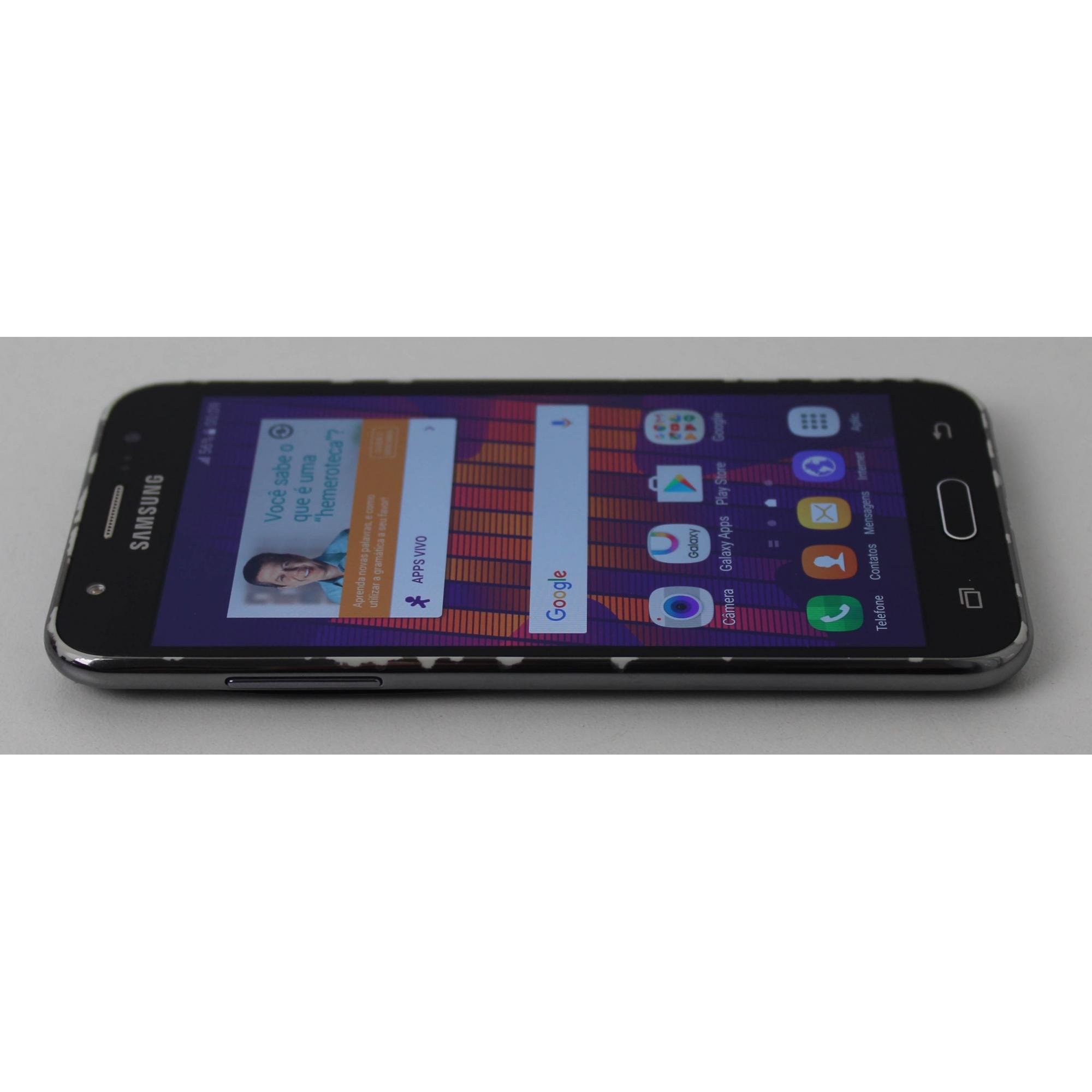 """Smartphone Samsung Galaxy J5 5"""" - 16GB (Não enviamos)"""
