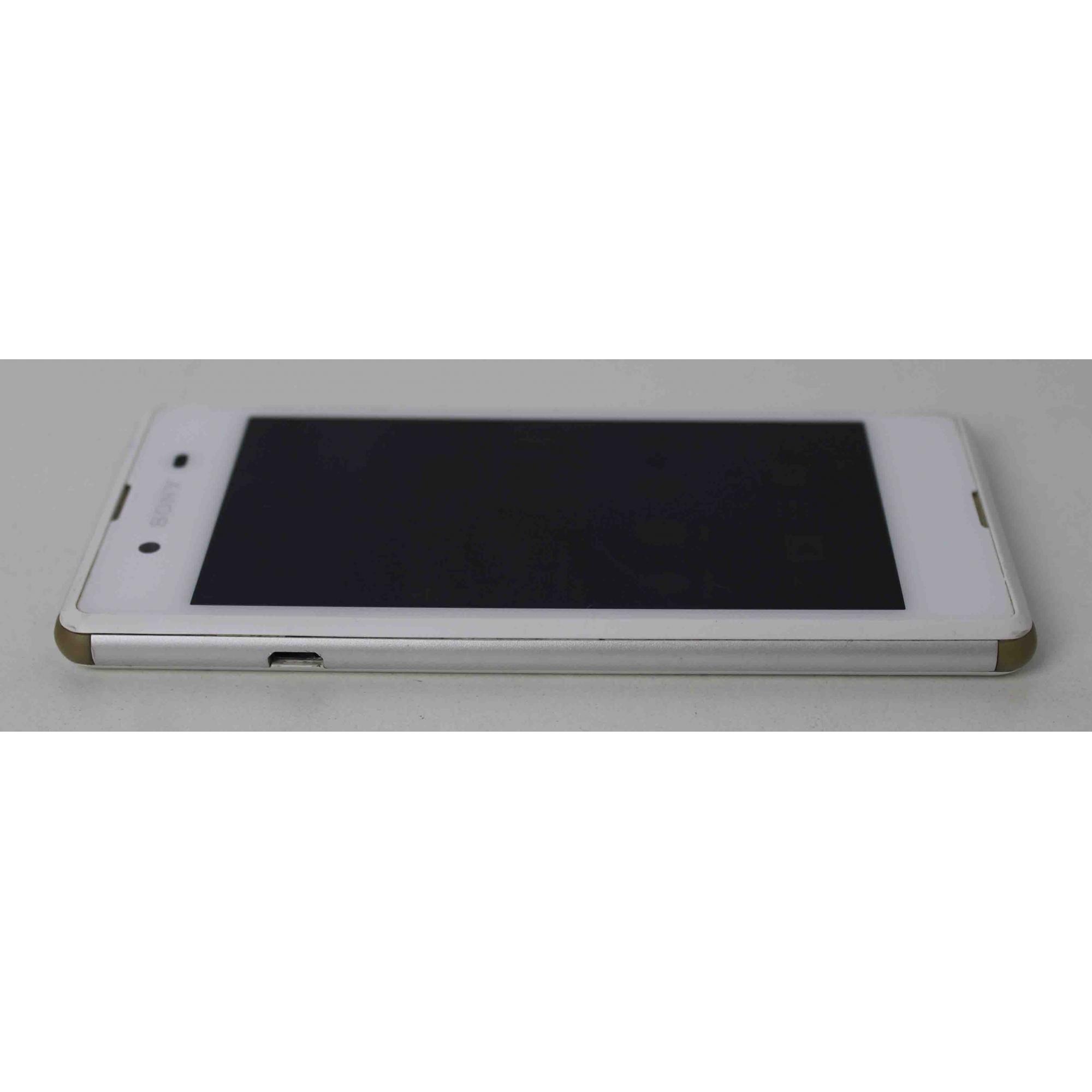 "Smartphone Sony Xperia E3 4.5"" 4GB Dual Sim 3G - Branco"
