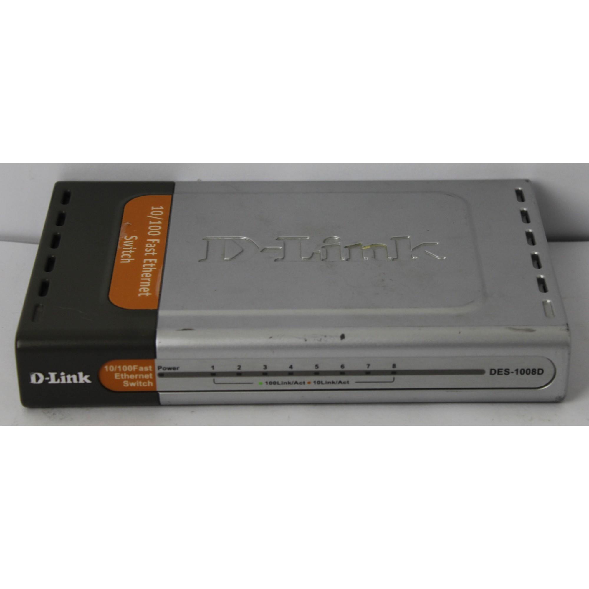 Switch D-link Modelo Des-1008d 8 Portas 10/100