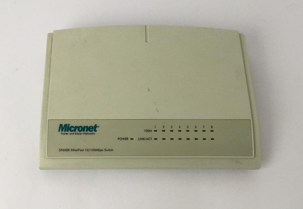 Switch Micronet SP608K EtherFast 8 Port 10/100M