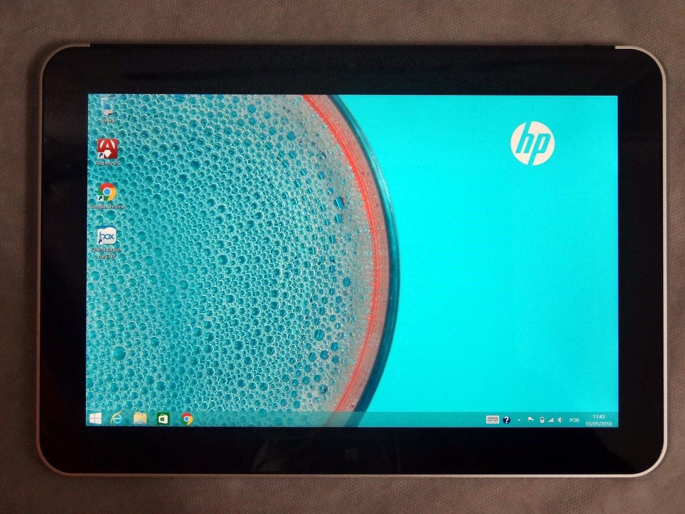 Tablet HP Elite Pad 1000 G2 Processador Intel® Atom® Quad Core, Tela de 10.1