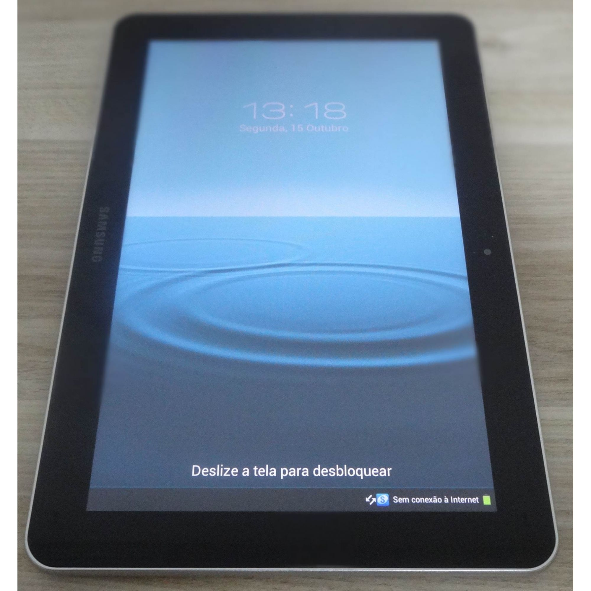 "Tablet Samsung Galaxy GT-P7510 10.1"" Wi-Fi Dual Core 1.0GHz 16GB Câmera Frontal 2.0MP"